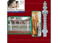 Cách lắp đặt hàng rào bê tông