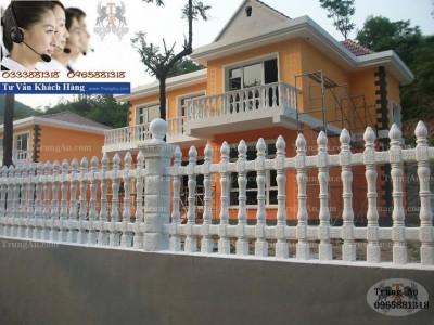 Những mẫu hàng rào bê tông hot nhất hiện nay