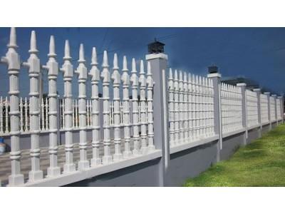 Phương thức tạo nên hàng rào bê tông cao cấp