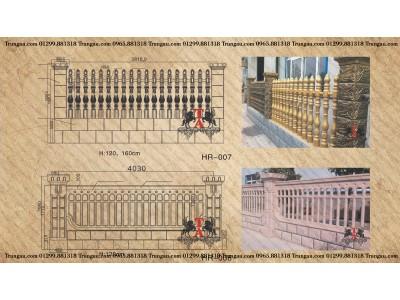 Sản xuất hàng rào bê tông ly tâm như thế nào?